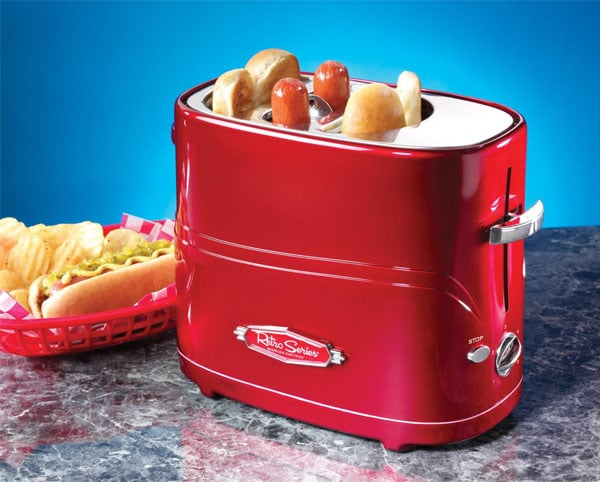 hot dog cooker retro toaster oven