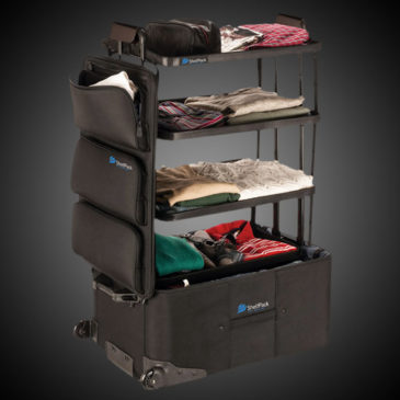 Shelfpack Travel Suitcase With Shelves