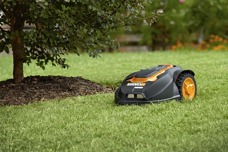 Landroid Robotic Electric Lawn Mower With Battery