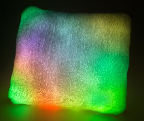 Moonlight Pillow With Led Lights
