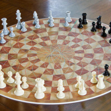 3 Player Chess Game Set