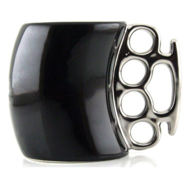 Knuckle Duster Handle Mug