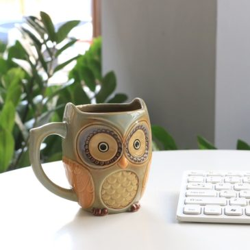 Cute Owl Coffee Mug