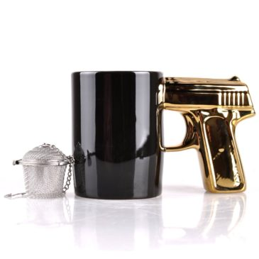 Gun Handle Coffee Mug