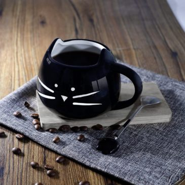 Cute Cat Face Coffee Mug